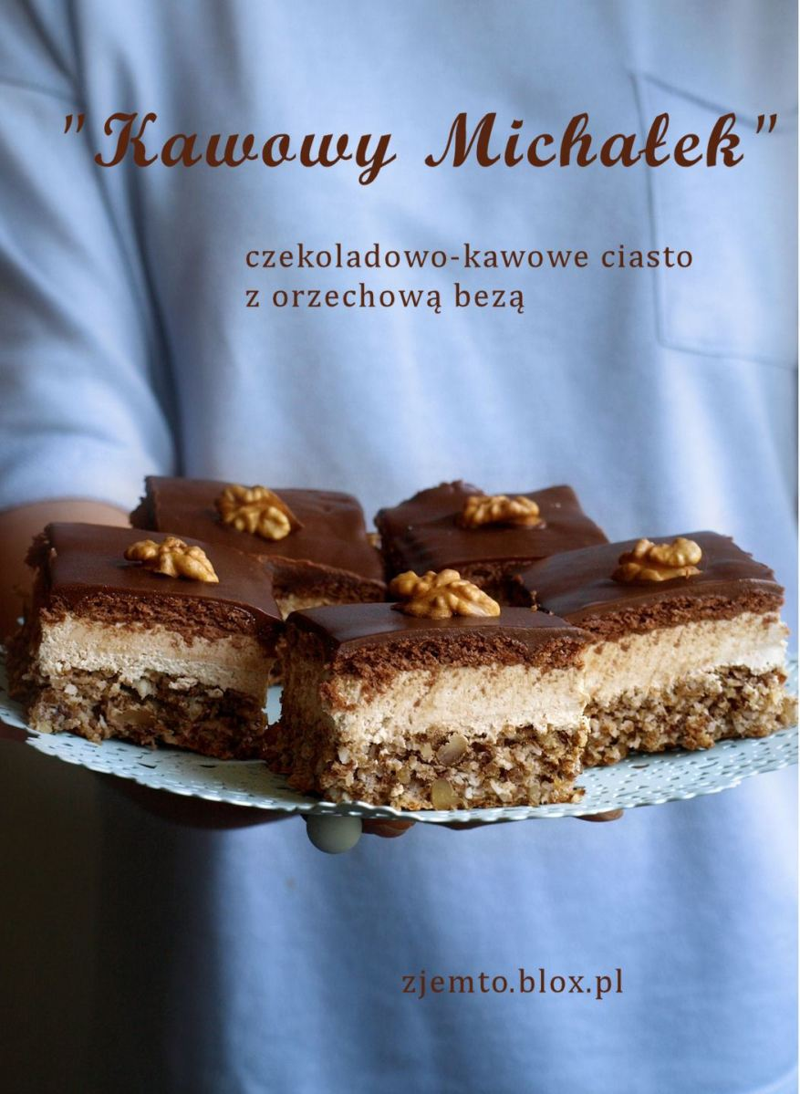 "Ciasto ""Kawowy Michałek"""